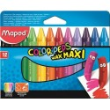 Ceruzky MAPED/ 12 Color Peps Maxi Wax,voskovky
