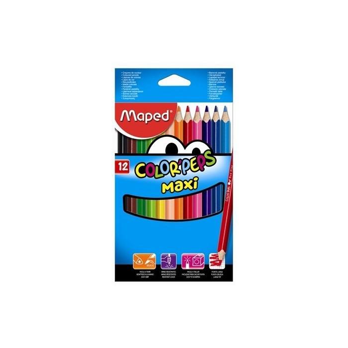 Ceruzky MAPED/12 3HR farebná súprava JUMBO