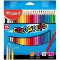 Ceruzky MAPED/24 3HR farebná súprava