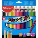 Ceruzky MAPED/48 3HR farebná súprava