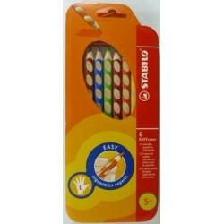 Ceruzky STABILO EASYcolors/ 6 3HR ľavák, farebná súprava
