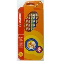 Ceruzky STABILO EASYcolors/ 6 3HR pravák, fareb.súprava