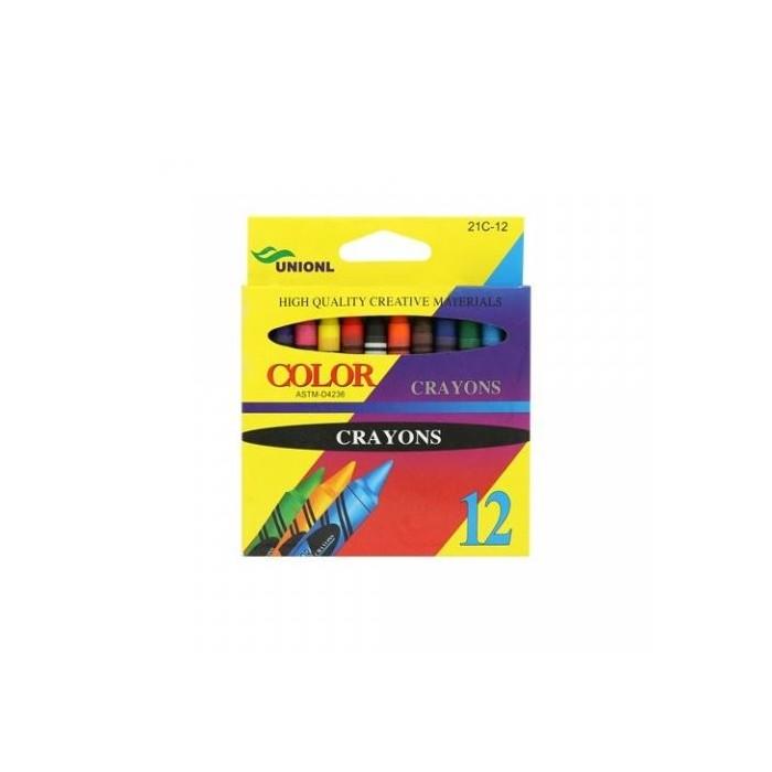 Ceruzky voskové Crayon 1/12 farebná súprava