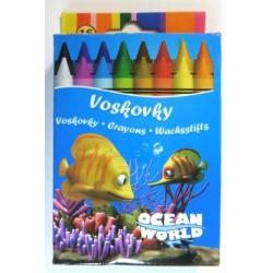 Ceruzky voskové Crayon 1/16 farebná súprava