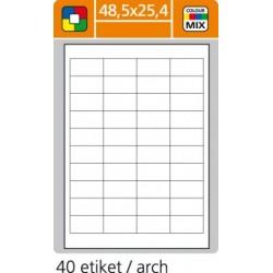 Etikety PLUS 48,5x25,4/100 hárkov