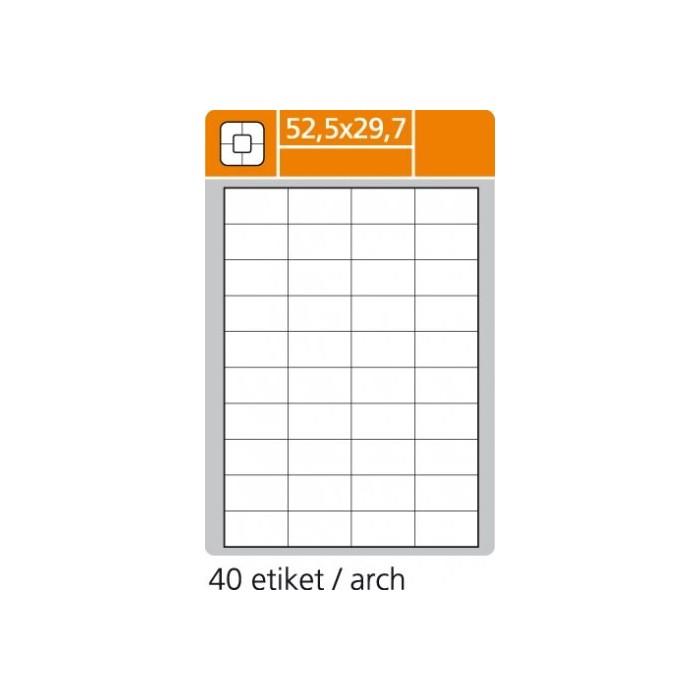 Etikety PLUS 52,5x29,7/100 hárkov