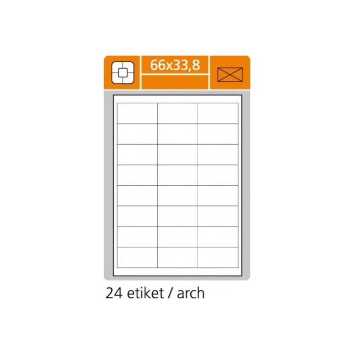 Etikety PLUS 66x33,8/100 hárkov