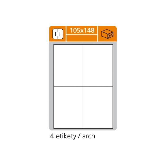 Etikety PLUS 105x148/100 hárkov