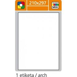 Etikety PLUS 210x297/100 hárkov