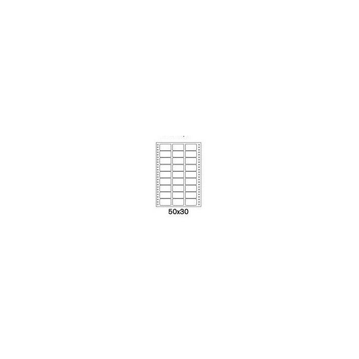 Etikety tabelačné 50x30 - 3R/100 hárkov