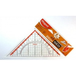 Pravítko trojuholník 45/177 MAPED Technik 26 cm s držadlom