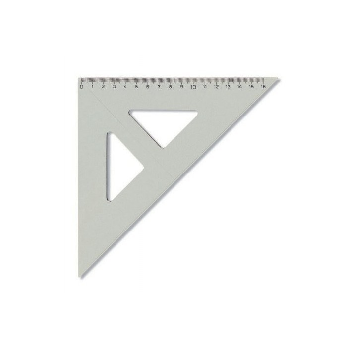 Pravítko trojuholník 45/177 s kolmicou KOH-I-NOORdymové