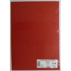 Výkresy farebné A4, 225g/50ks, červené