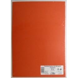Výkresy farebné A4, 225g/50ks, oranžové