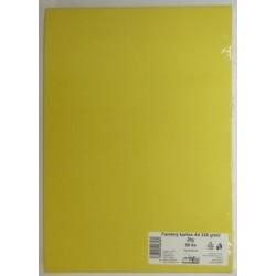 Výkresy farebné A4, 225g/50ks, žlté
