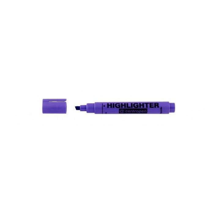 Zvýrazňovač Centropen 8552 fialový F