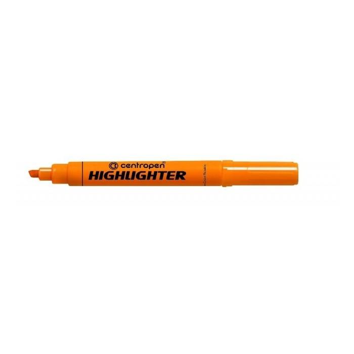 Zvýrazňovač Centropen 8552 oranžový F