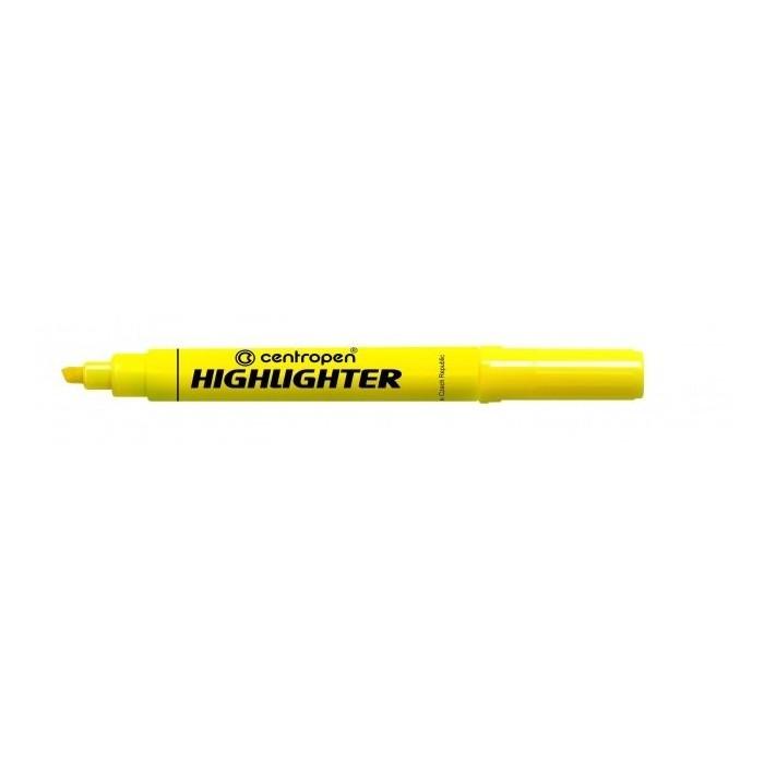 Zvýrazňovač Centropen 8552 žltý F