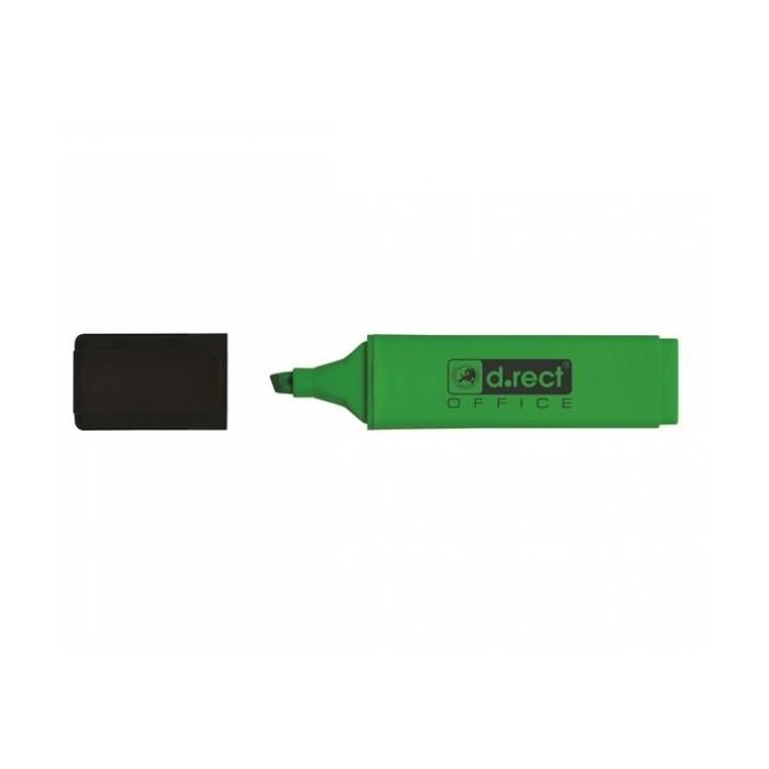Zvýrazňovač D.RECT 1128, zelený
