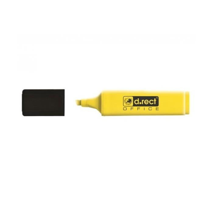 Zvýrazňovač D.RECT 1128, žltý