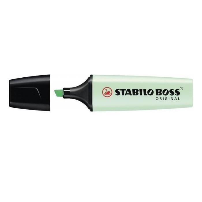Zvýrazňovač STABILO BOSS 70/116 pastelová mentolová