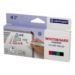 Centropen 8559/4 súprava značkovač na stierateľné biele tabule
