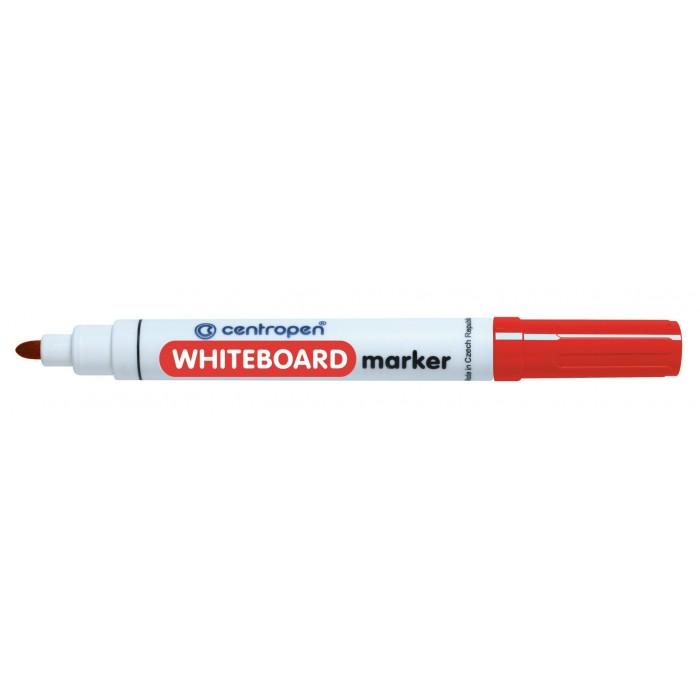 Centropen 8559 značkovač červený na stierateľné biele tabule