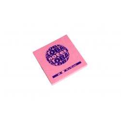 Blok samolepiaci 75x75/80ls. neón ružový