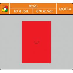 Etikety cenové 16x23 MOTEX červené