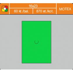 Etikety cenové 16x23 MOTEX zelené