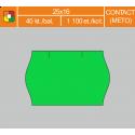 Etikety cenové 25x16 CONTACT zelené