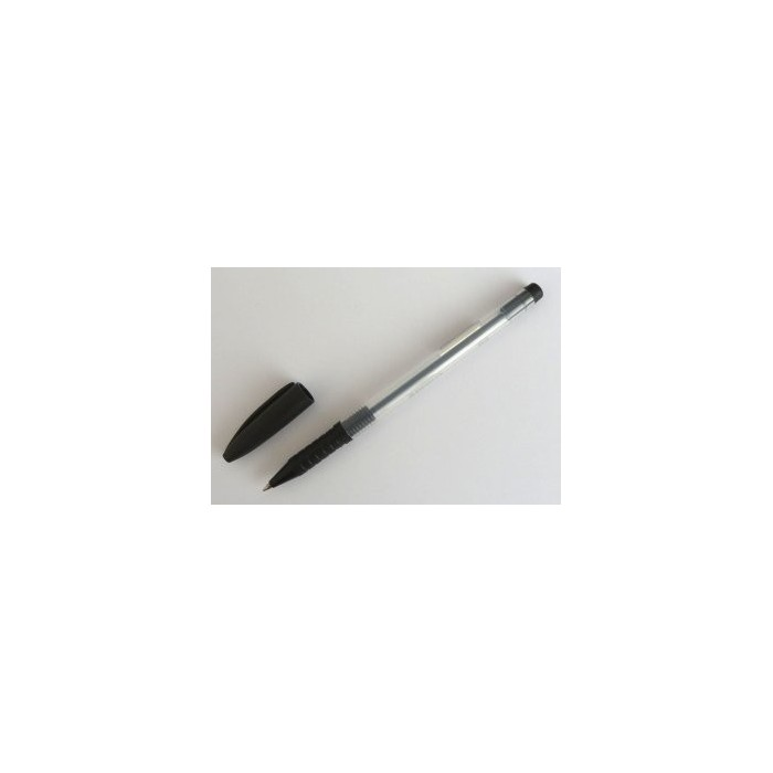 Pero guľôčkové jednorazové SPOKO 0115 čierne