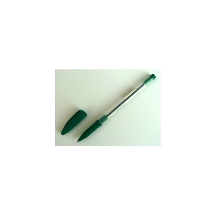 Pero guľôčkové jednorazové SPOKO 0115 zelené