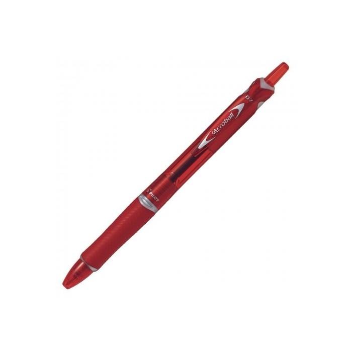 Pero guľôčkové PILOT Acroball 0,7mm BG, červené